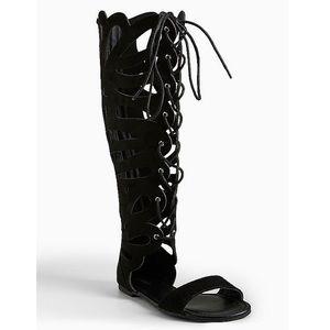 New torrid gladiator sandals size 11 women